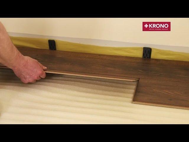 кляймер для ламината на стену