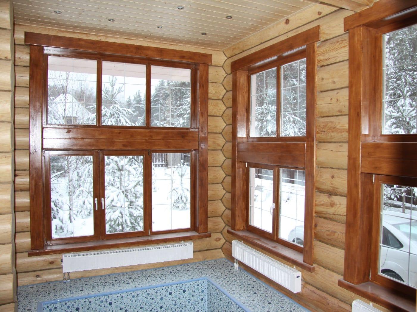 Внутренняя отделка деревянного дома: особенности материалов