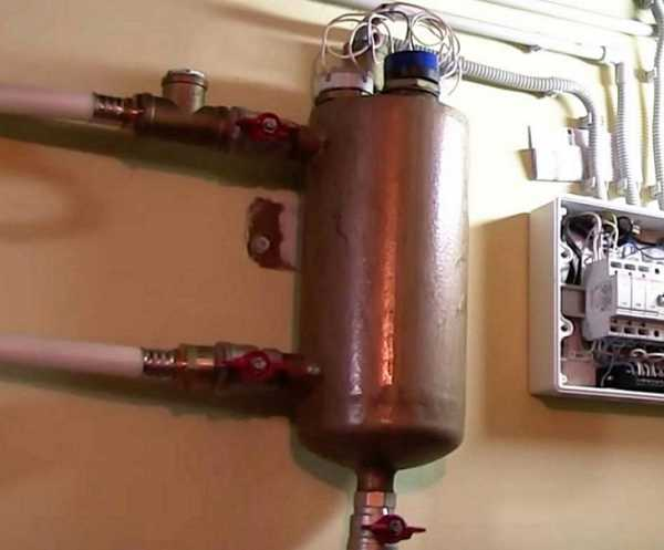 самодельный котел для водяного отопления на дровах