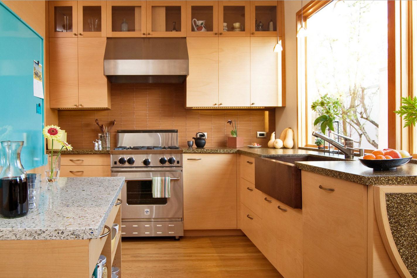 Кухня, совмещенная с гостиной в частном доме: 100+ фотографий дизайна