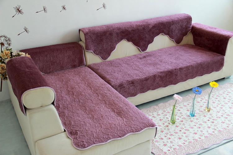 Как выбрать покрывало на угловой диван: характеристики тканей, типов крепления