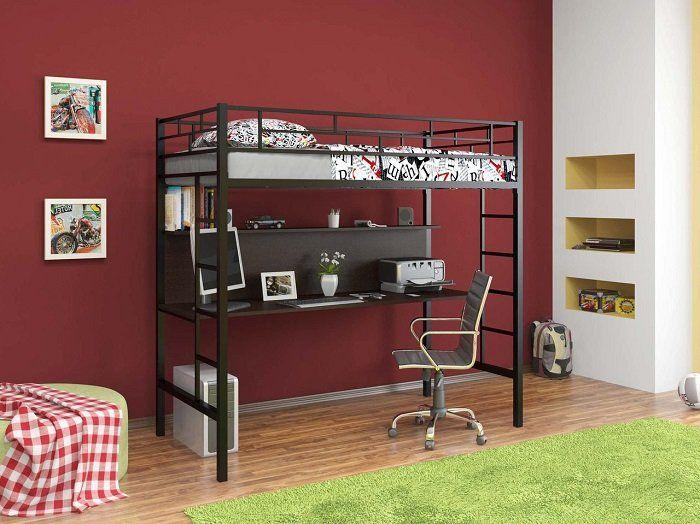 Детская кровать со столом: кровать-чердак, кровать-стол, двухъярусная кровать со столом внизу