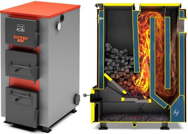 Устройство котлов длительного горения на угле: сфера применения, конструкция, топочное сырье
