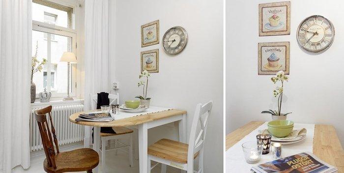 Как выбрать подходящий стол и стулья для маленькой кухни, фото примеры