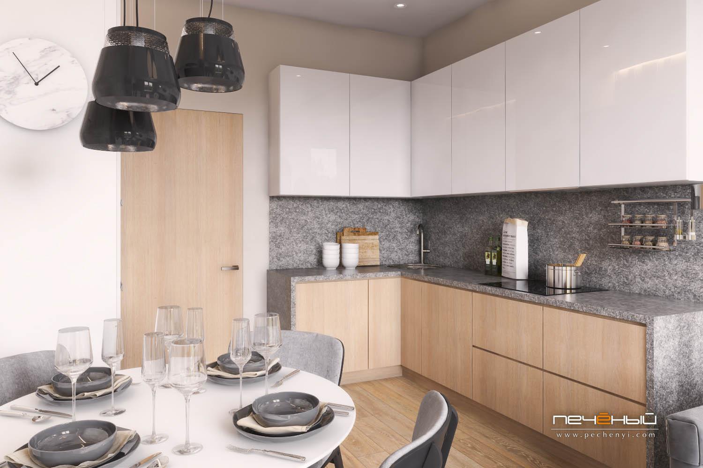 Кухня-гостиная 16 кв. м с диваном: дизайн, фото с зонированием, интерьер, совмещение, планировка, как обставить, проекты
