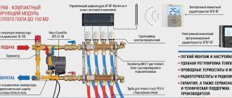 Основные моменты установки и регулировки расходомеров для системы теплого пола