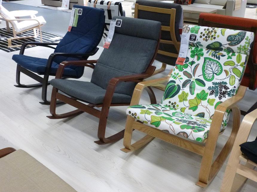 Кресло-качалка ikea (27 фото): особенности и отзывы