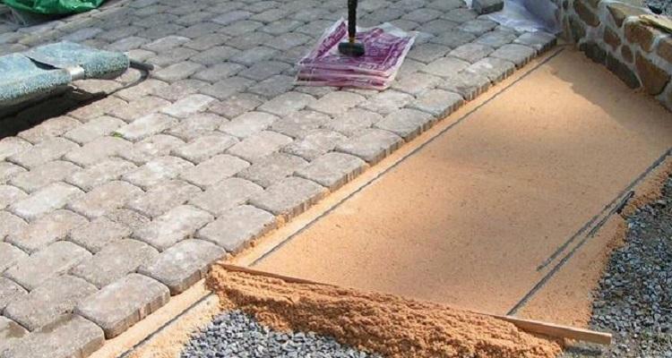 Этапы подготовки основания для укладки тротуарной плитки