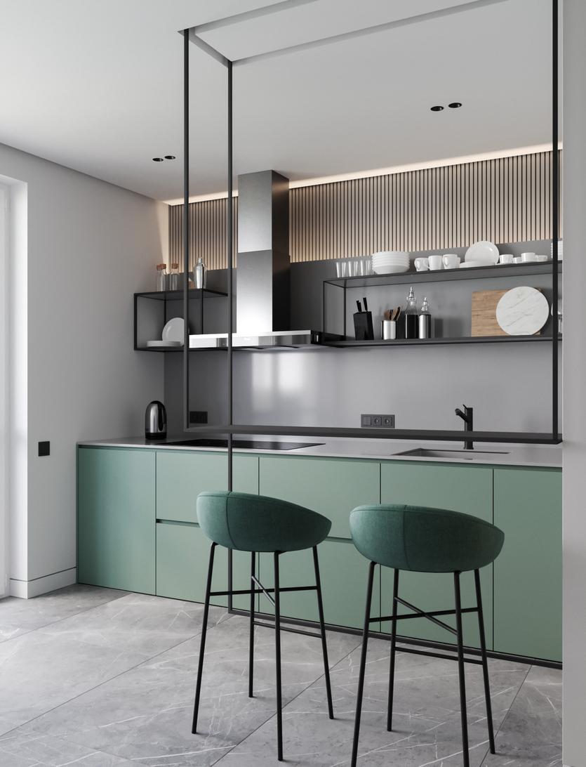Кухни модерн: современные и актуальные 120 фото дизайна городских жителей