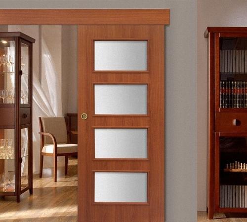 Эффективное использование пространства с помощью одностворчатой раздвижной межкомнатной двери
