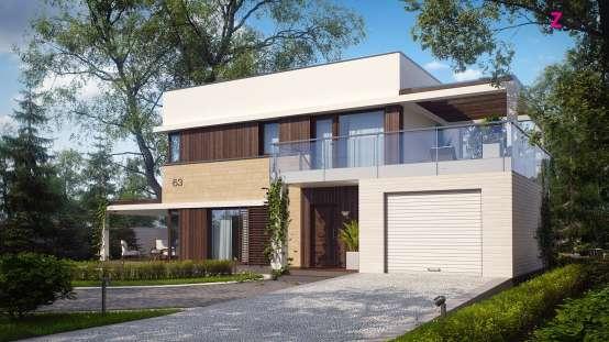 проекты 2 этажных домов