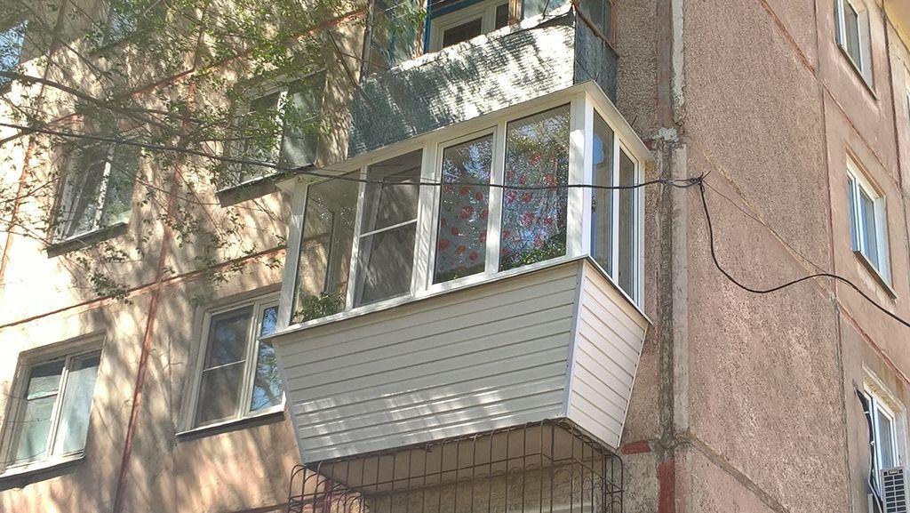 какие балконы