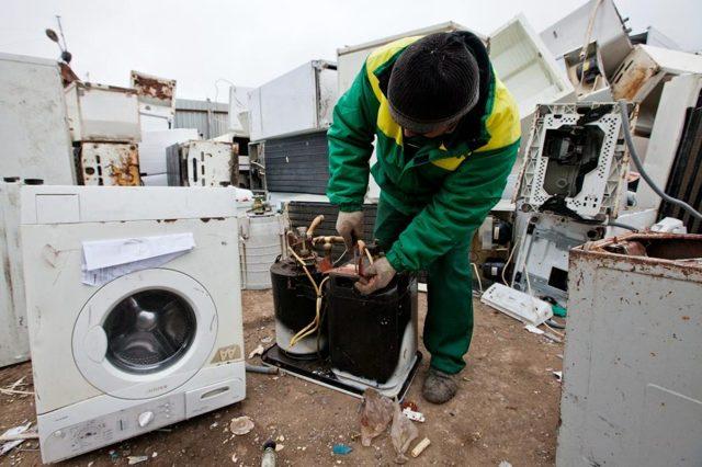 Сдать стиральную машину на металлолом |