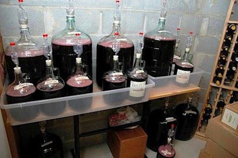 Вино из кислого винограда в домашних условиях