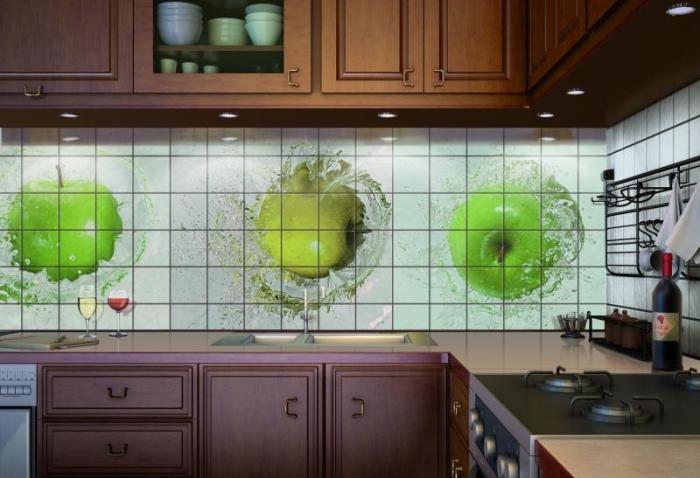 Кухонный фартук, виды поверхностей по материалу изготовления и дизайну