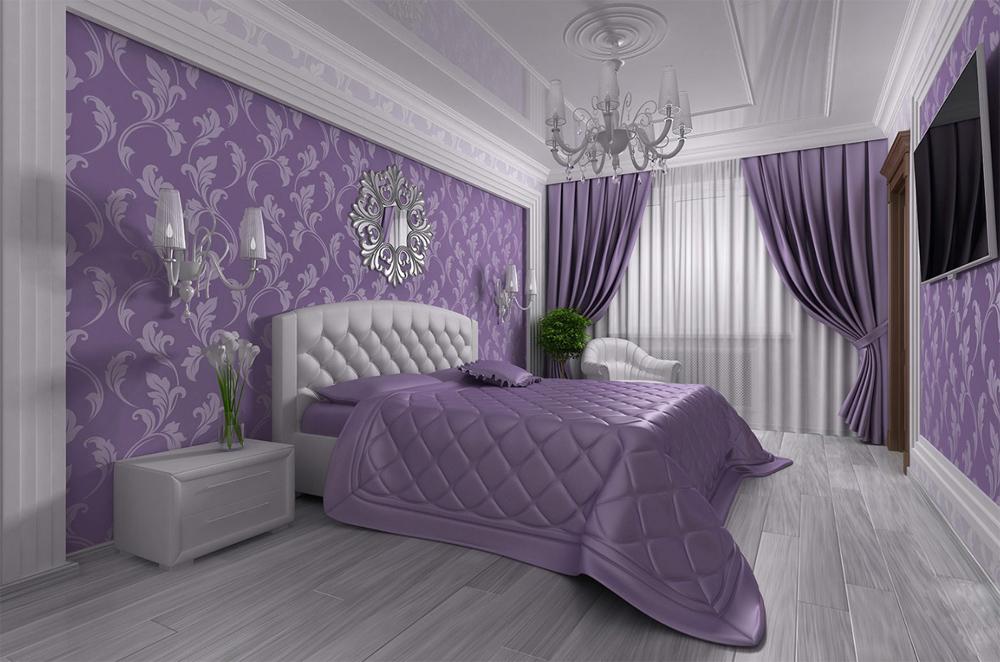 красивые покрывала и шторы для спальни