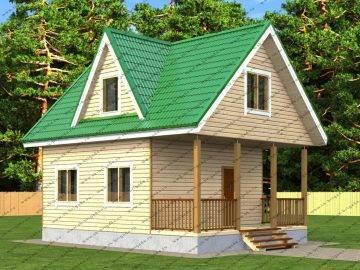Сборный дом из дерева: виды строений из бревна и других подобных материалов