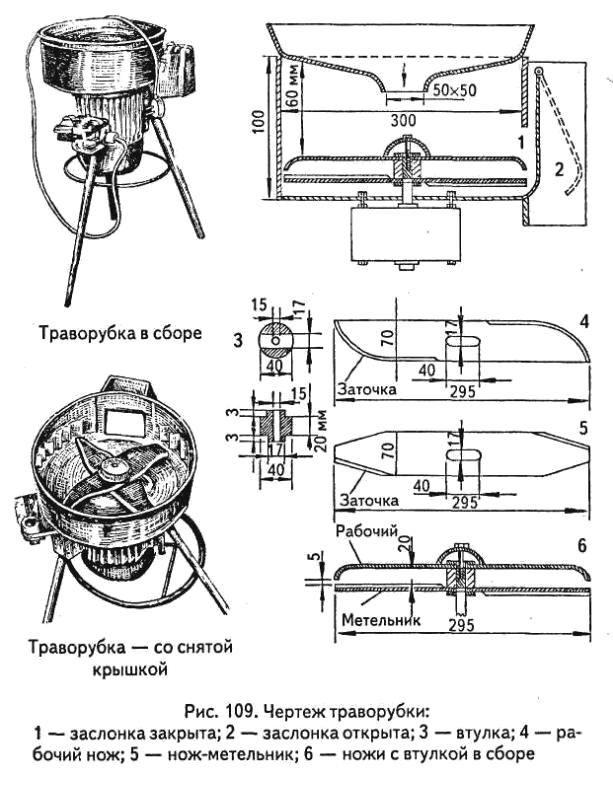 траворезка своими руками в журнале моделист конструктор