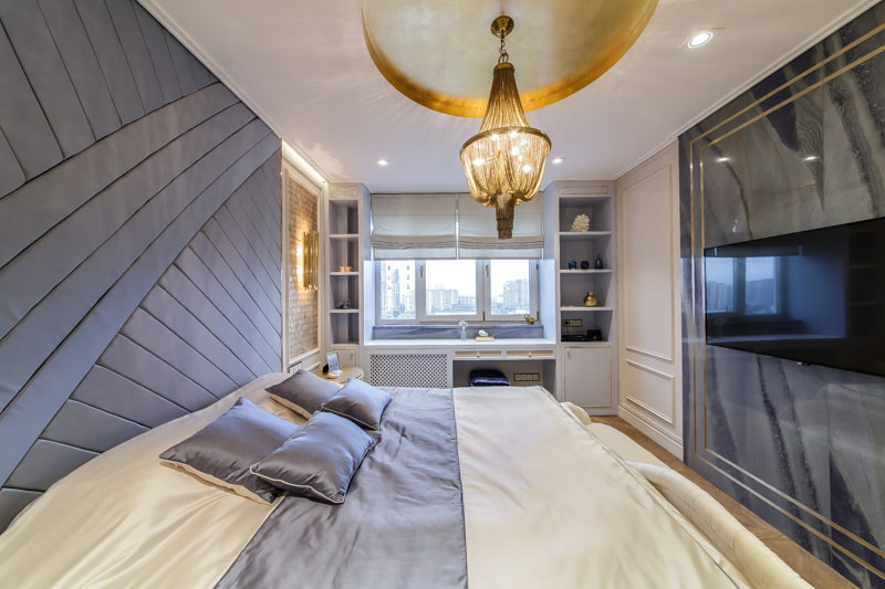 Как выбрать подходящую люстру для спальни в современном стиле