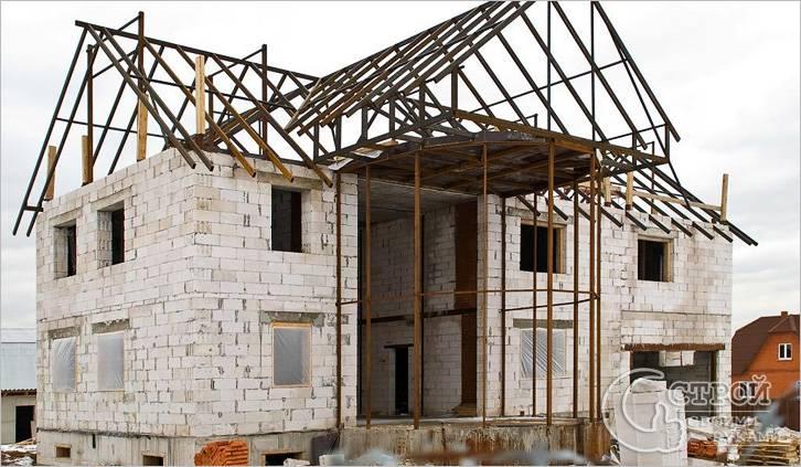 построить дом из газоблока