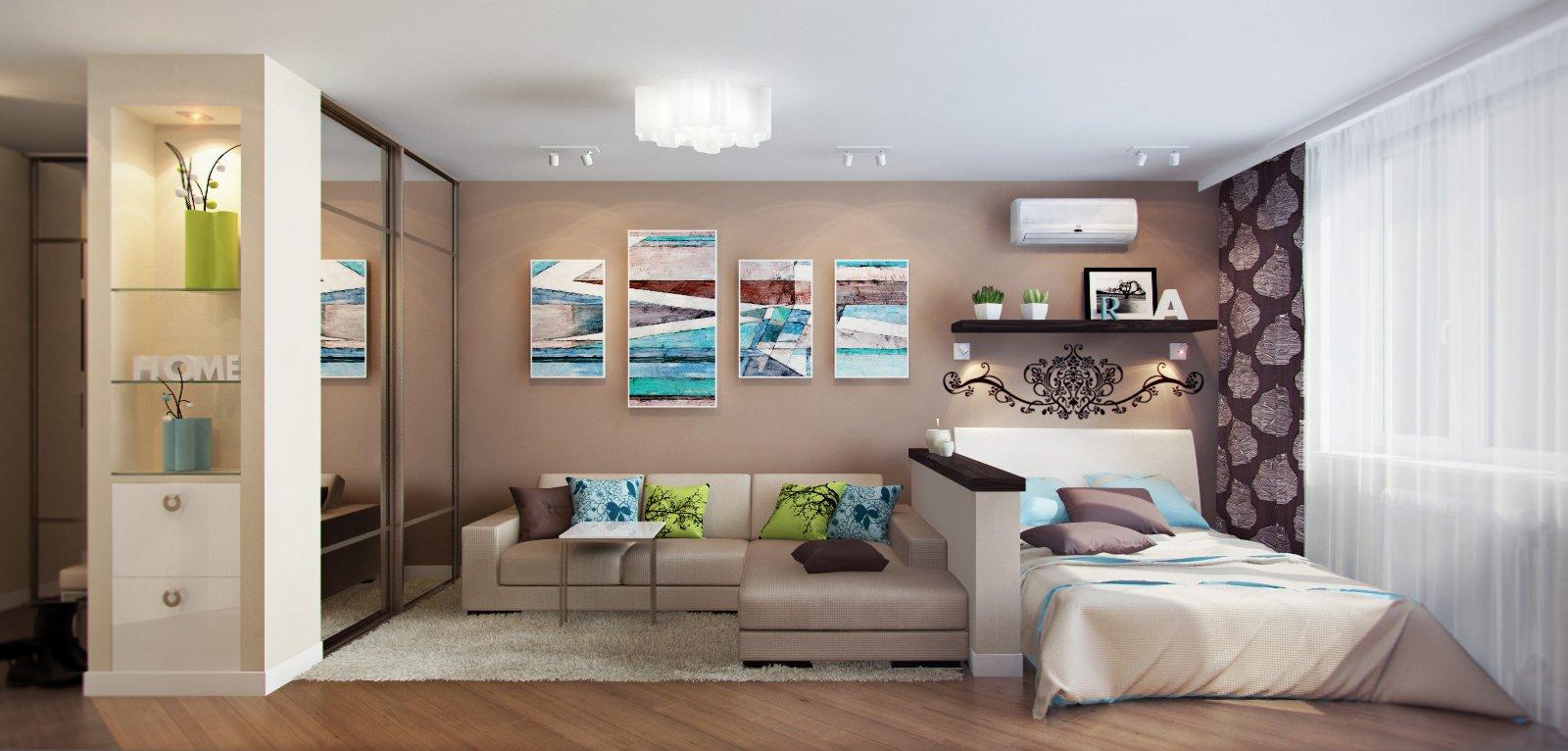 100 лучших идей дизайна: линолеум в интерьере квартиры на фото