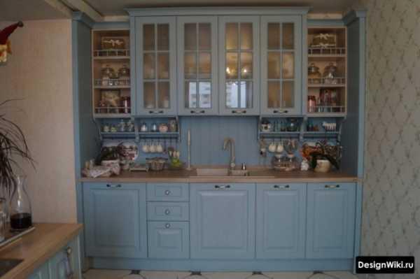 Дизайн фиолетовой кухни и сочетания оттенков +75 фото
