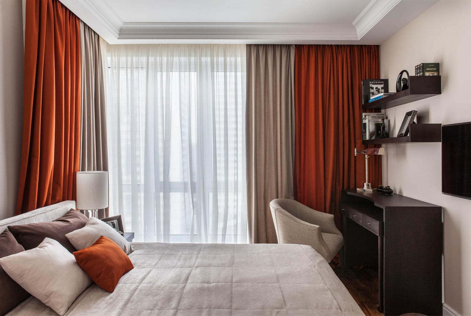 Шторы для маленькой спальни: разновидности и рекомендации по выбору