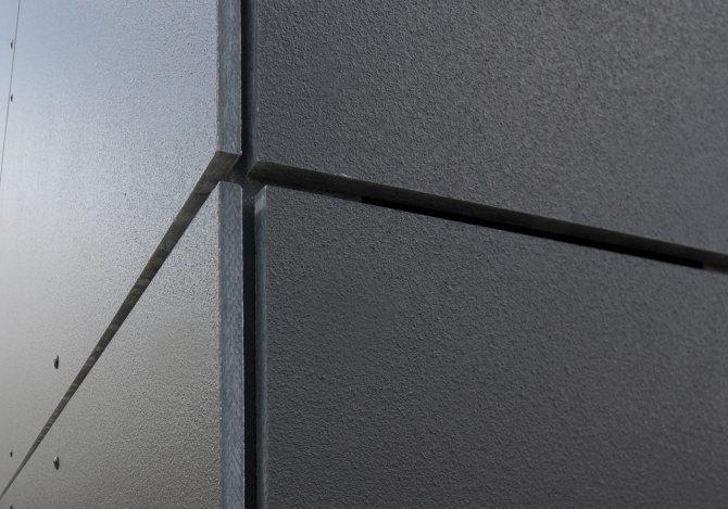 Как сделать отделку фасада дома фиброцементными панелями