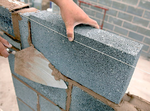 Блоки керамзитобетонные: характеристики материала