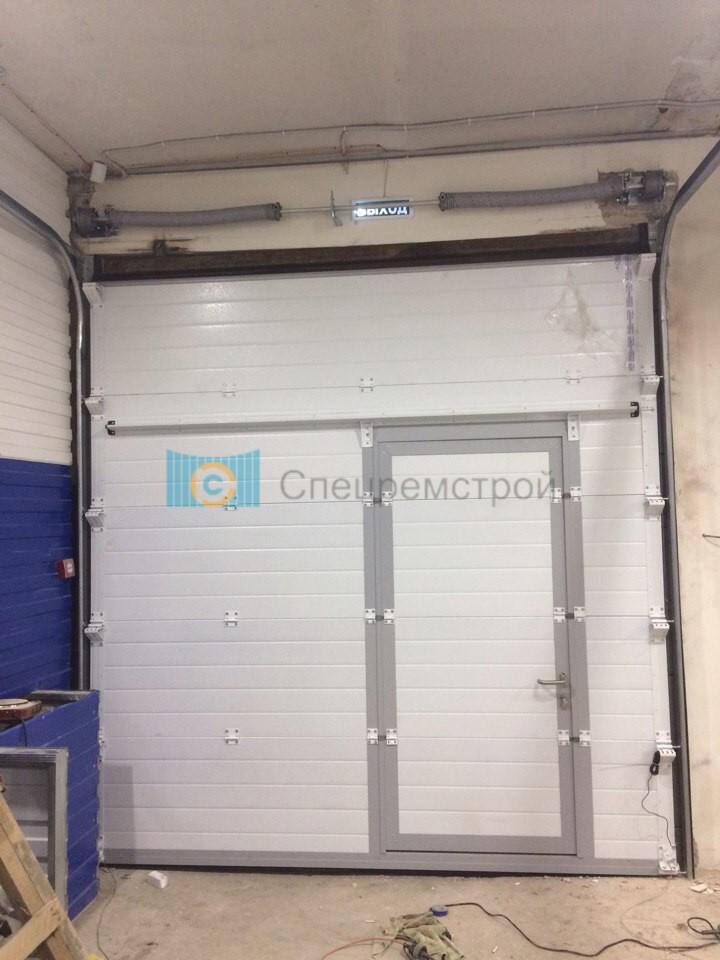 Подъемные ворота в гараж своими руками - ясамблог