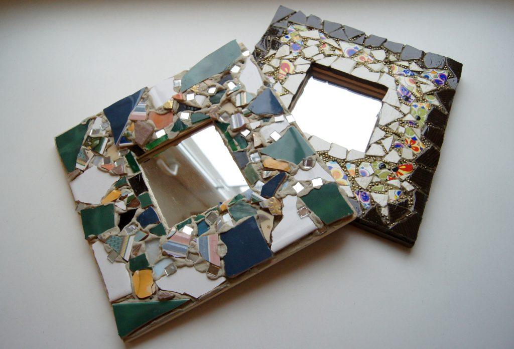Рама для зеркала своими руками - «декор»