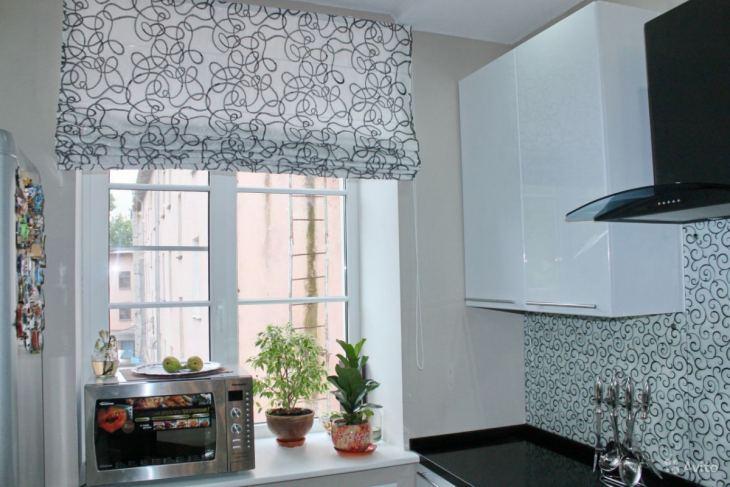 шторы на кухне кухня оформление окон