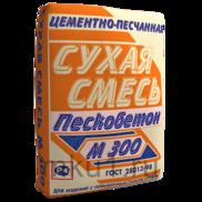 Пескобетон м300: технические характеристики, состав, отзывы