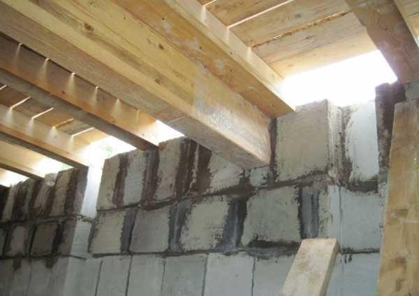 Конструктивный выбор этажного перекрытия для дома из газобетона