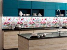 Фартук для кухни из пластика: кухонный экран из пластиковых (пвх) панелей