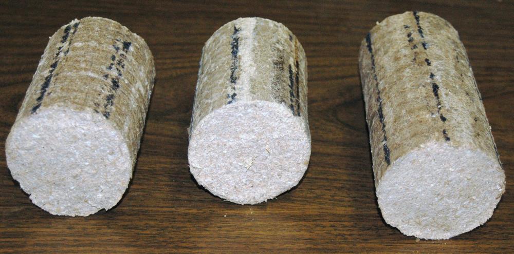 древесные брикеты