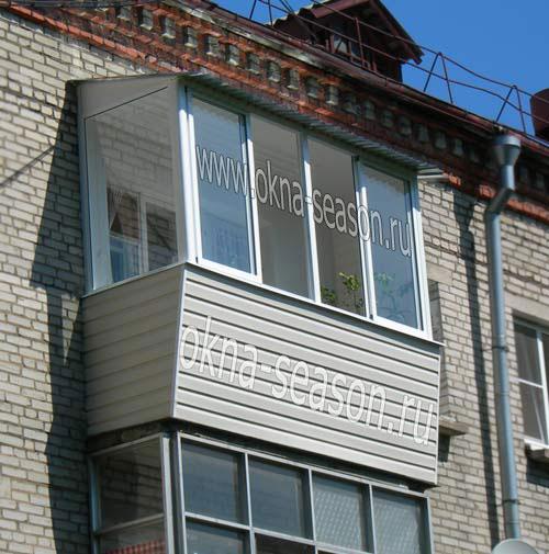 виды остекления балконов их достоинства и недостатки