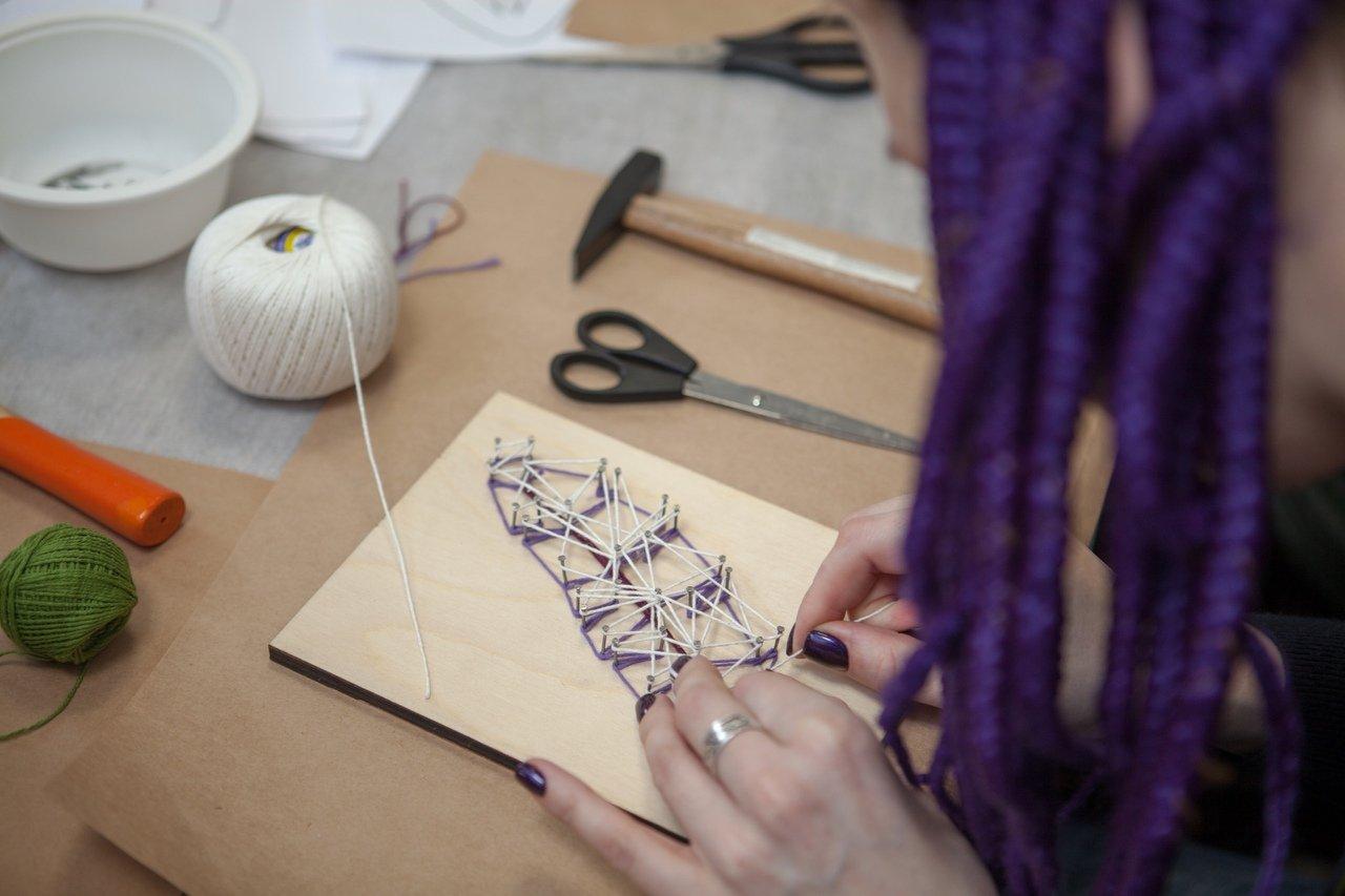 Панно из гвоздей и ниток: 70+ идей, которые вдохновят на создание шедевров - «декор» » «дизайна интерьера»