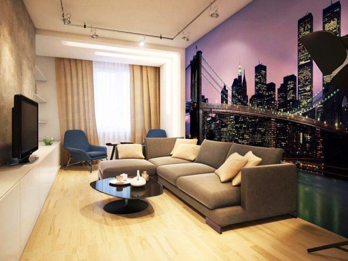 ремонт гостиной дизайн