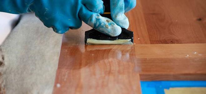 Как снять лак с мебели в домашних условиях?