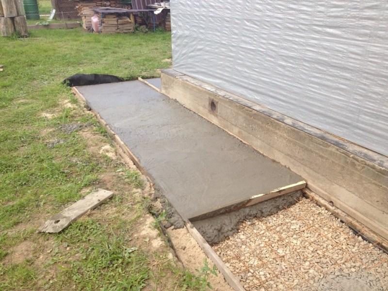 ремонт отмостки бетонной уж дома смета