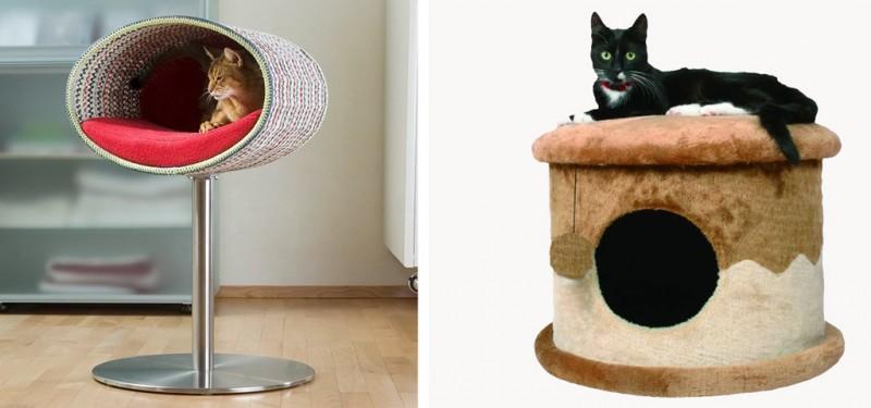 кошачий дом своими руками