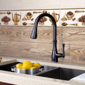 Панели для фартука на кухню (37 фото): как выполнить отделку декоративными панелями? особенности 3d материалов