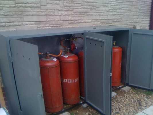 Отопление от газового баллона в частном доме и расход сжиженного пропана в загородном