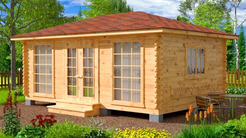 современные дачные домики