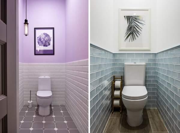 варианты отделки туалета