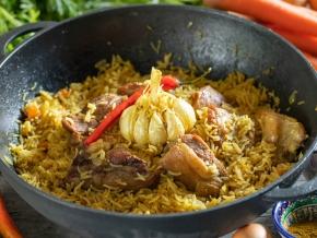 Настоящий узбекский плов на костре – кулинарный рецепт