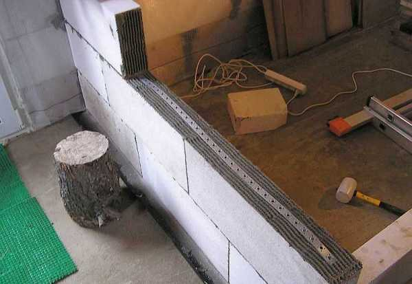 Размеры газобетонных блоков для наружных стен