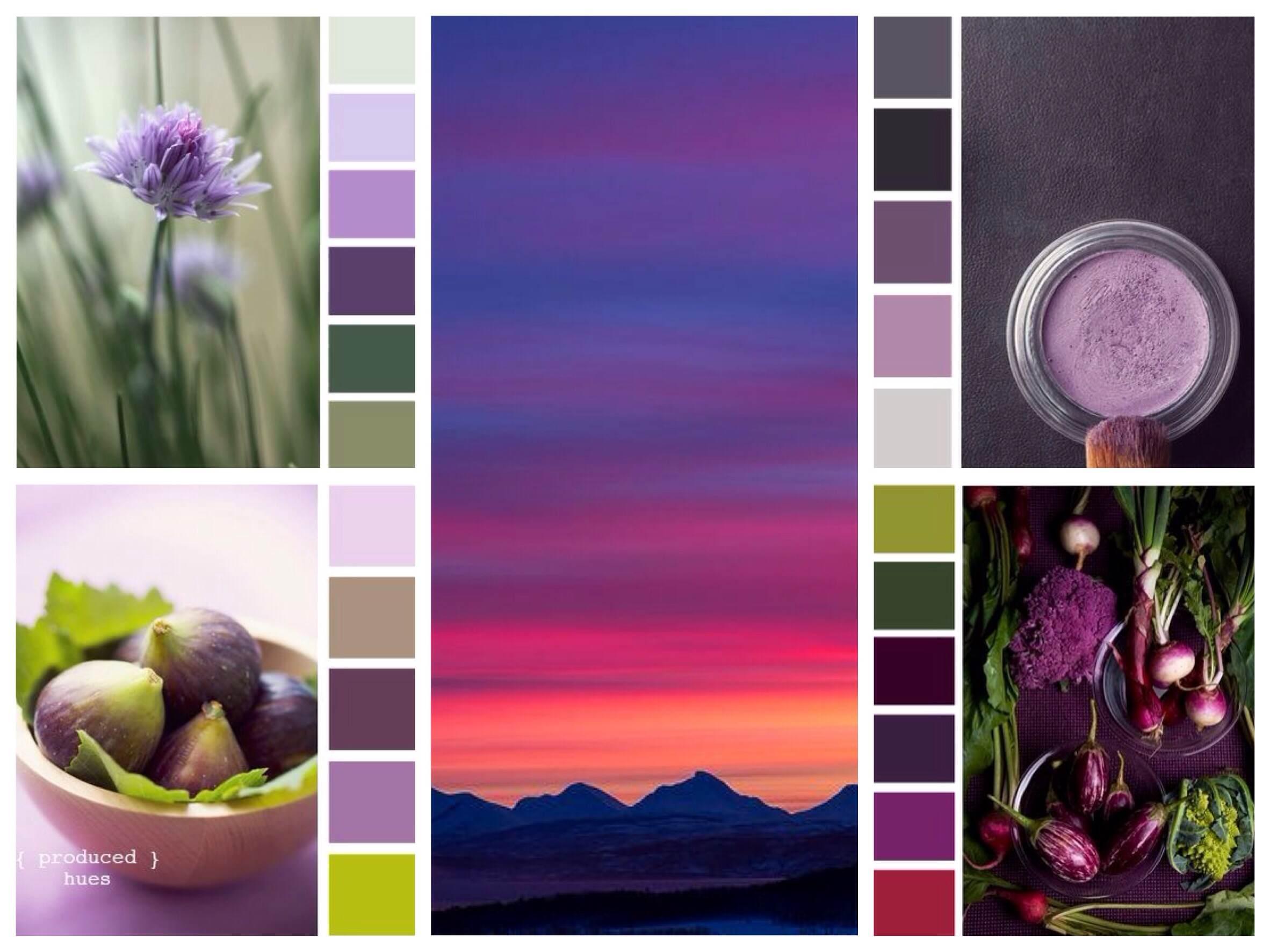 нежно фиолетовый цвет