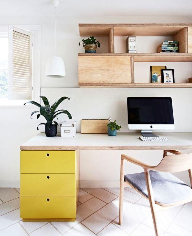 Как украсить свой рабочий стол, место в офисе: интерьер и декор  - 23 фото
